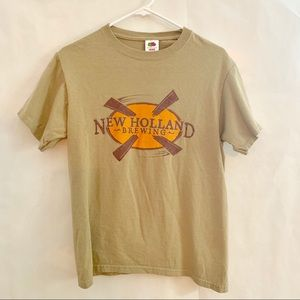 New Holland Brewing Co Tee Shirt. Size S